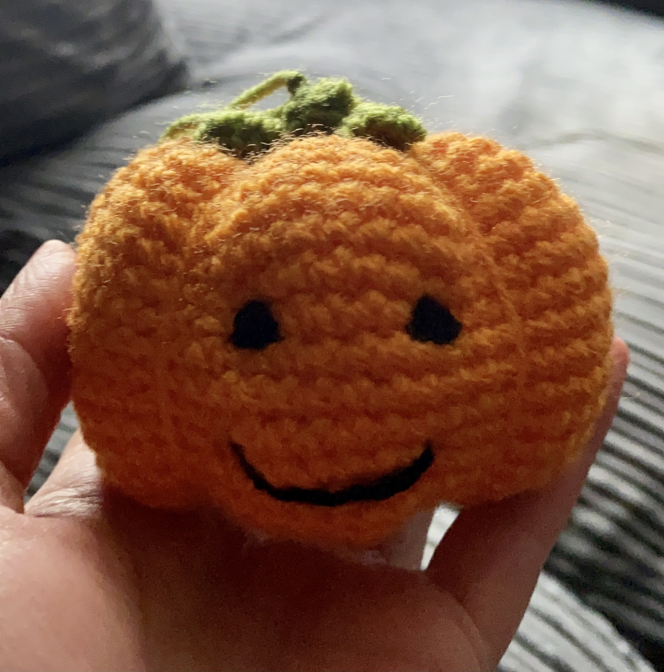 Little Crochet Pumpkin Pattern