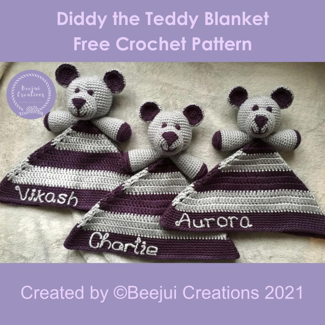 Diddy the Teddy Blanket