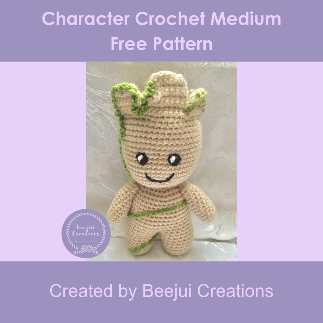 Character Crochet MediumFree Pattern